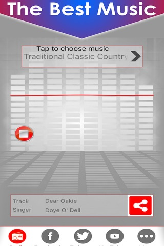 Country music radio fm streaming with live stations playing classic and best country hits playlists screenshot 4