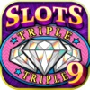 Triple Slots 9 Paylines - FREE Classic Diamond Slot Machine