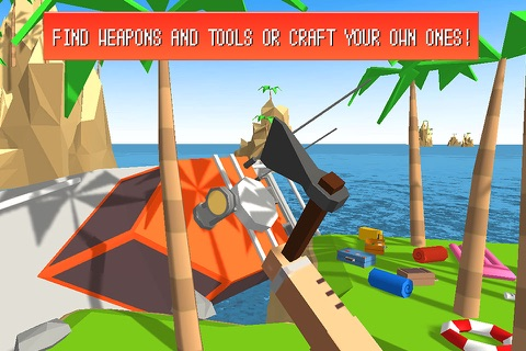 Craft Island Survival Simulator 3D Full screenshot 3