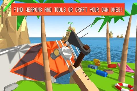 Craft Island Survival Simulator 3D Full screenshot 3