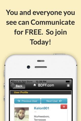 Black Dating For Free screenshot 4