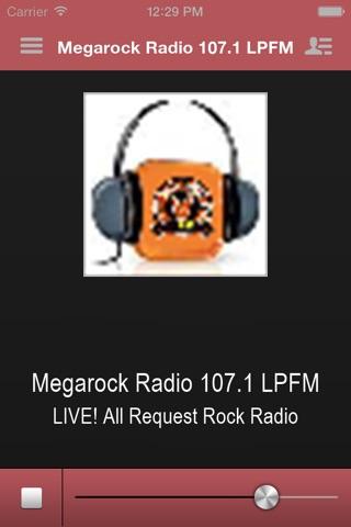 Megarock Radio 107.1 LPFM screenshot 1