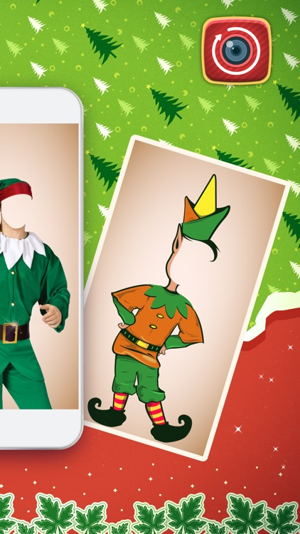 Fantasy Elf Makeover – Put Face in Hole for Creative Style