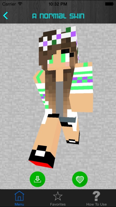 Girl Skins For Minecraft PE Pocket Edition Best Free Skins App - Criar skin para minecraft pc