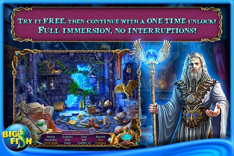 Mystery of the Ancients: Three Guardians - A Hidden Object Game App with Adventure, Puzzles & Hidden Objects for iPhone screenshot 1