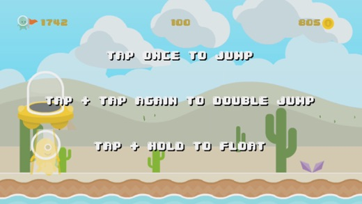 Hoppy Naut Screenshot