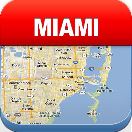 迈阿密离线地图 – 城市 地铁 机场