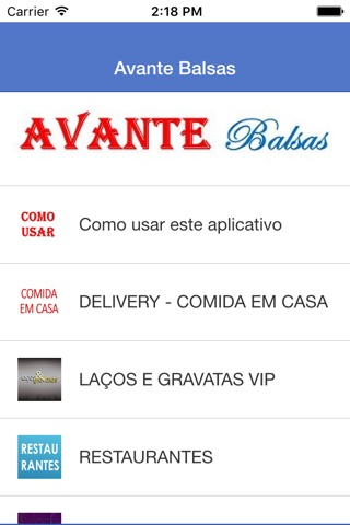 Avante Balsas screenshot 2