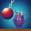 Devil Slaying Wrecking Ball - awesome ball hitting arcade game ball