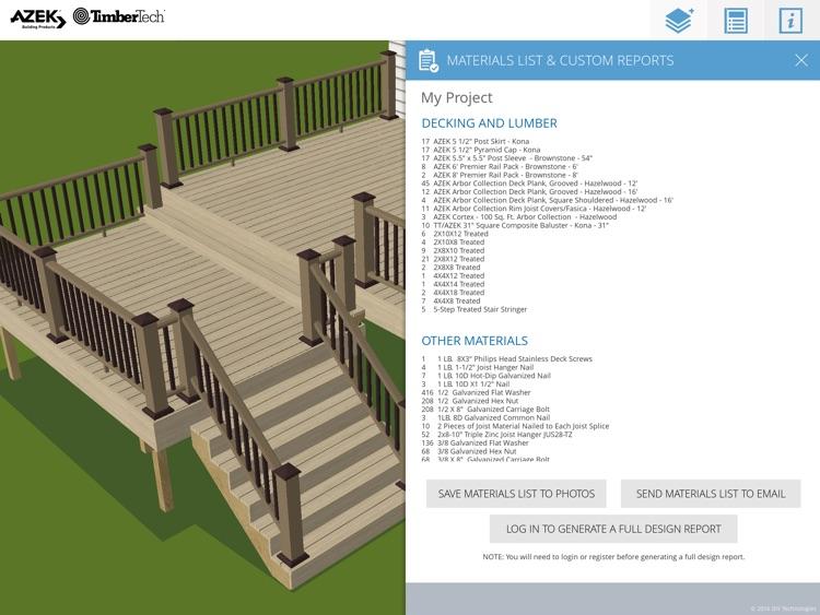 AZEK Deck Designer App by DIY Technologies