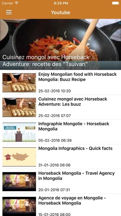 Voyage MongolieCapture d'écran de 5