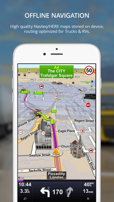 Sygic Truck GPS Navigation On The App Store - Sygic us maps