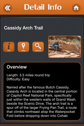 Hiking in Capitol Reef National Park screenshot 3