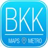Bangkok Stadtfuhrer mit Offline Stadtplan und Karte Hotel Restaurant
