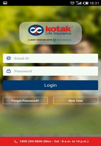 Kotak Life screenshot 1