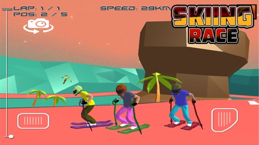 Skiing Race Screenshot