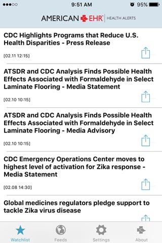 Health Alerts screenshot 3
