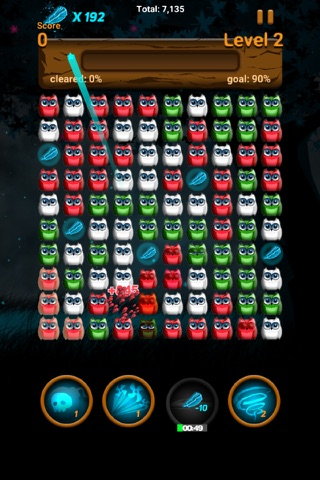 Owl night - Crush game screenshot 4