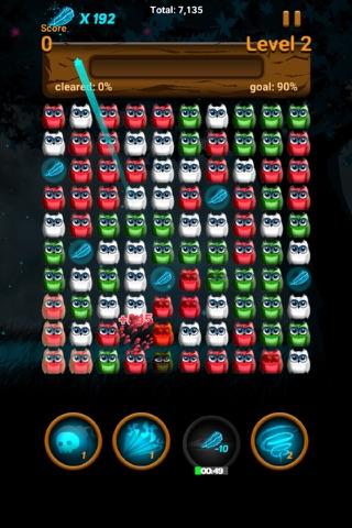 Owl night - Crush game screenshot 4