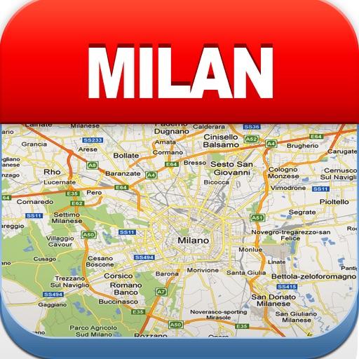 米兰离线地图 – 城市 地铁 机场