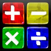 Conundra Math: a brain training number game for iPhone and iPad icon