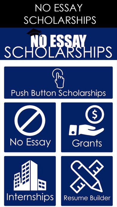 free no essay scholarships