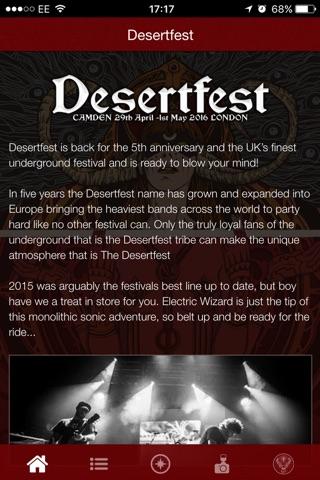 Desertfest screenshot 1