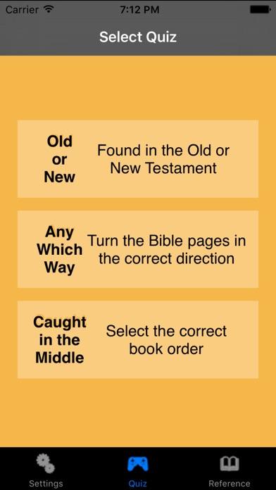 Bible Quiz Deluxe Скриншоты4