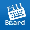FillBoard: Custom keyboard