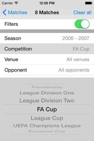 About Man Utd: facts & stats for Manchester United screenshot 4