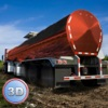 Oil Truck Simulator 3D - Offroad tank truck driving