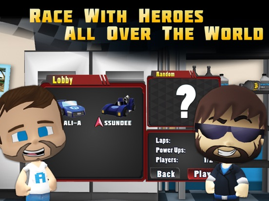 Screenshot #4 for Tube Heroes Racers