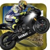 Motorcycle Jump Run - Highway Racing Speed Traffic
