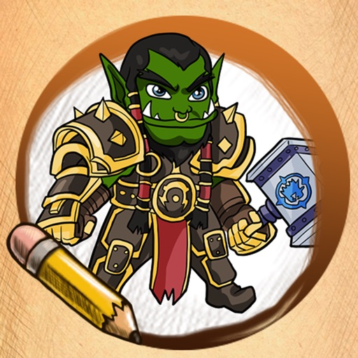 Learn To Draw For Warcraft Characters iOS App
