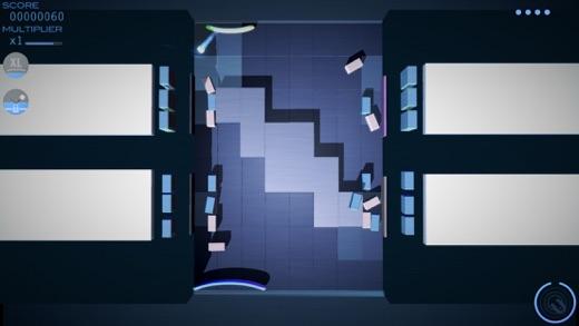 Grey Cubes: Unique 3D Brick Breaker Screenshot