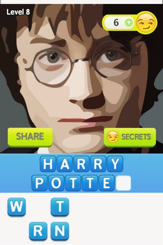 Guess The Movies Characters – puzzles drawn in watercolors style with emoji secrets! screenshot 3