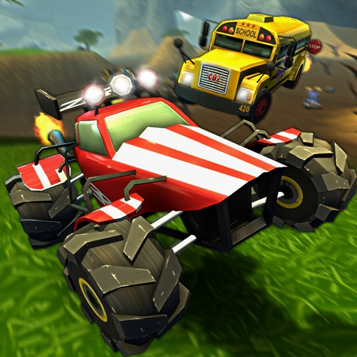 Crash Drive 2: The multiplayer stunt game, with monster trucks & classic muscle cars iOS App