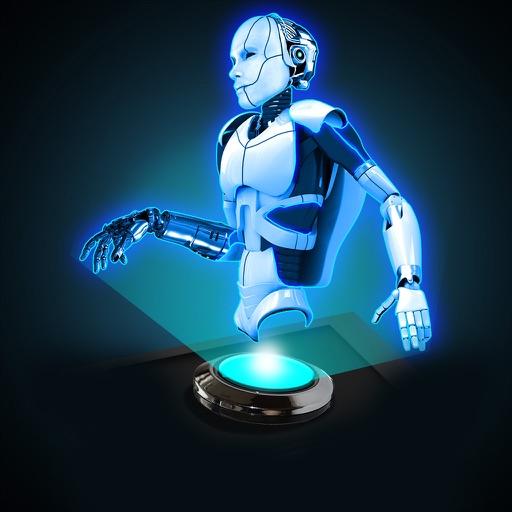 Hologram 3D Robot Simulator iOS App