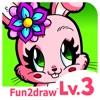 Fun2draw™ Animals Lv3 - How to Draw & Color Stylish Pretty Kawaii Animal Characters