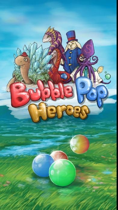Bubble Pop Heroes Screenshot