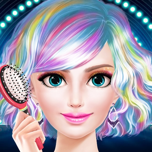 Celebrity Star Hair Beauty Salon - Spa, Makeup & Dressup Girls Makeover Game iOS App