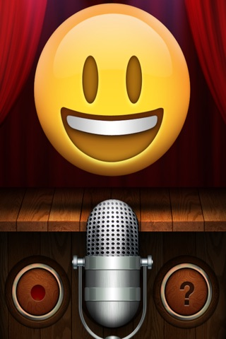 Talking Emoji Pro - Send Video Texting Emoticons using Voice Changer and Dash Emoji Geometry Stick Game screenshot 3