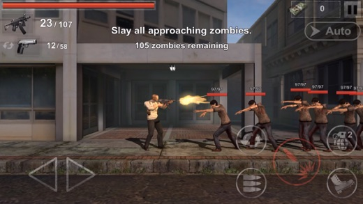 The Zombie: Gundead Screenshot
