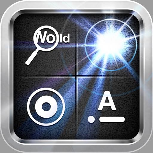 手电筒四位一体:手电筒,频闪仪,莫尔斯电码发射器,照明放大镜
