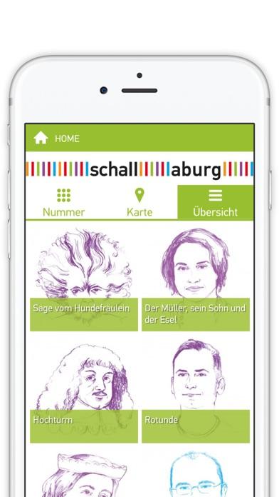 Schallaburg-Ausstellungsguide Screenshot