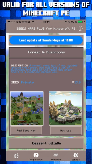 Seeds for Minecraft PE Free Seeds Pocket Edition on the App Store