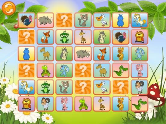 Животные - Найди одинаковые картинки для iPad