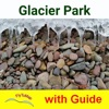 Glacier National Park  GPS and outdoor map with guide