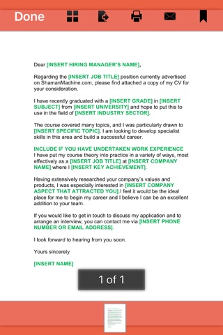 Cover Letter -  145 Templates for Any Job screenshot 3