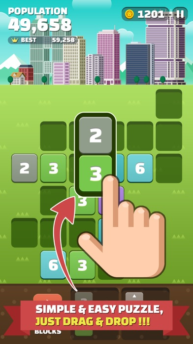 My Little Town [Premium] : Number Puzzle Game Screenshots